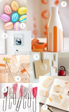 Washi Tape Ideas + Giveaway