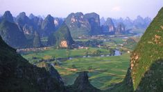 Natural scenery in Guilin in China