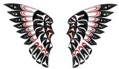 Image detail for -Native American Wings by ~TheMajesticCarnival on deviantART Native American Totem, Native American Tattoos, Native Tattoos, Native American Symbols, American Indians, Eagle Tattoos, Red Bird Tattoos, Black Bird Tattoo, Tattoo Bird