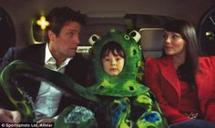 Love Actually, starring Hugh Grant and Martine McCutcheon, topped the list of most romantic