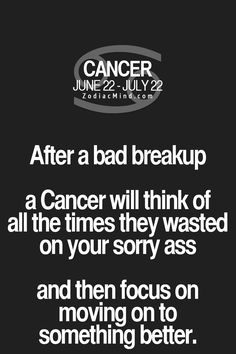 How your Zodiac sign deals with a bad break up!