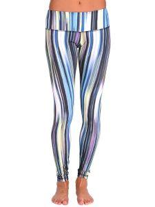 Anjali Clothing The Ferocity Leggings Solstice Stripe | www.downdogboutique.com