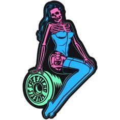 SpeedLabs Wheels <br> SpeedLab Pinup Sticker