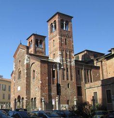 Meravigliosa San Sepolcro Qui nella foto di Ferry V. #milanodavedere Milano da Vedere