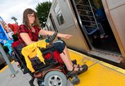Activist says there's too much space between trains and platforms for #wheelchair users @mindthegapmta