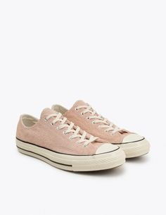 "Sneakers from <a href=""http://tres-bien.com/converse/"" class=""uniquelink"">Converse</a>. Suede upper with rubber toe cap. Flat laces through metal eyelets. Contrasting top stitching throughout. Metal eyelets on the inner side. Tonal leather stripe on the heel. Textile lining and insole. Rubber outsole."