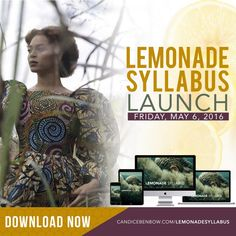 DOWNLOAD THE LEMONADE SYLLABUS! – Candice Marie Benbow