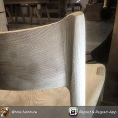 Designer maker student Harry @hms.furniture appears to have fallen in love with the work and techniques of the late Sam Maloof. He has done a great job shaping his chair and I suspect hand shaping might be involved in his next project too. Watch this space... #cabinetmaking#woodwork#woodworking#furnituredesign#design#handtools#woodshop#furnituremaker#finewoodworking#handcraft#handmade#woodcraft#woodart#workshop#cabinetmaker#Dowoodworking#finefurniture#furniture#wood#woodworker#craft by…