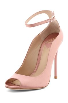 Well, if you have to suffer to be beautiful, suffer with this perfect rose heel.