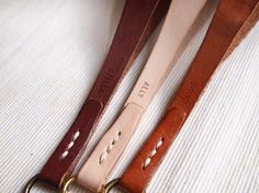 Personalized Camera Wrist Strap Leather Hand Stitched by harlex MXS