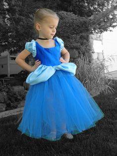 Cinderella Costume Tutu Dress. $75.00, via Etsy.