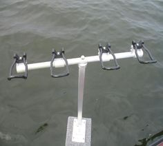 These are the rod holders i use when spider rigging made by Hi-Tek Stuff