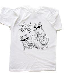 Party Cat TShirt, via Etsy.