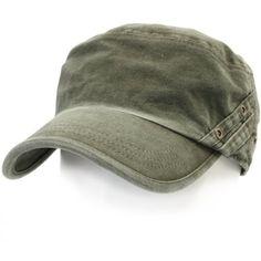 Amazon.com: ililily Vintage Cotton Cadet Cap Military Army Camo style... ($18) ❤ liked on Polyvore featuring accessories, hats, vintage military hats, vintage hats, camo hats, military hats and military cap