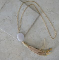 Karen Tassel Necklace