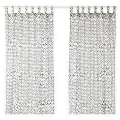 SOMMAR 2017 κουρτίνα, 2 τεμ. - IKEA
