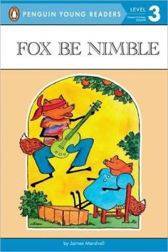 """""""It is also helpful to use books from a series or by the same author to capitalize on familiar plot structures, language, and characters (e., books in the Fox series by [James] Marshall)"""" (Worthy & Prater, p. - Fox Be Nimble by James Marshall Free Books Online, Books To Read Online, Children's Literature, Bedtime Stories, Free Reading, Reading 2014, Stories For Kids, Historical Fiction, Used Books"""