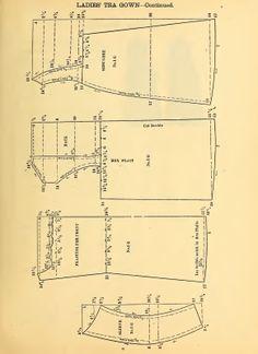 Ladies' Tea Gown 1888