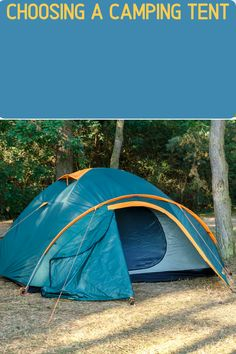 Tents come in all shapes and sizes. If you're car camping, a dome-shaped tent might be best to give more room and comfort. However if backpacking is your thing, then an ultralight 2-person tent will work better (and save weight). We've got you covered with what to look for when buying a tent! Diy Camping, Tent Camping, Outdoor Camping, Glamping, Outdoor Gear, 2 Person Tent, Camping Supplies, Camping Essentials, Ways To Travel