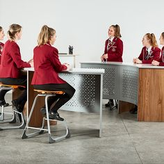 Maximise your comfort and productivity with stylish and practical tables like the Endeavour Table through Furnware. Learning Spaces, Ottomans, Tables, Students, Create, Face, House, Inspiration, Mesas