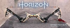 Equip the functional LEGO Horizon: Zero Dawn Sharpshot Bow