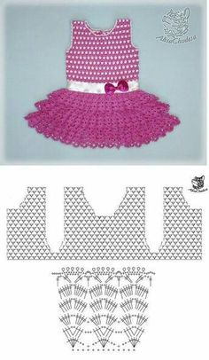 Smocking Patterns Baby Patterns Crochet Motifs Crochet Patterns Baby Girl Dresses Baby Dress Crochet For Kids Baby Knitting MacrameImage gallery – Page 307863324526319619 – Artofit Crochet Baby Dress Pattern, Baby Dress Patterns, Crochet Fabric, Crochet Diagram, Baby Knitting Patterns, Crochet Motif, Crochet Patterns, Crochet Toddler, Crochet Kids Hats