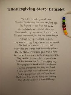 Thanksgiving story craft idea for kids - Click image to find more DIY & Crafts Pinterest pins
