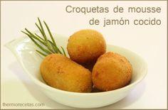 Croquetas de mousse de jamón cocido