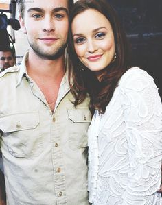 Leighton Meester and Chace Crawford