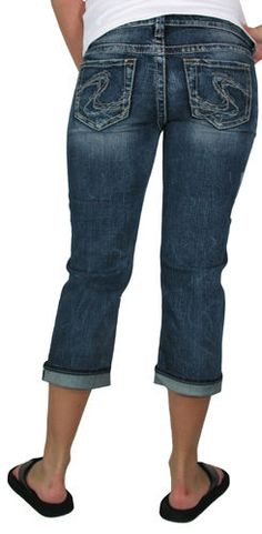 SILVER JEANS SALE Buckle Cheap Mid Rise Aiko Slim Stretch Jean 26 ...