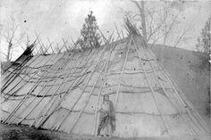 Nez Perce longhouse - no date