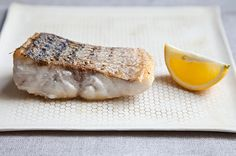 Le Bernardins Crispy-Skinned Fish | By Genius Recipes |  A simple formula for doing right by fish, adapted from On the Line by Eric Ripert and Christine Muhlke (with a surprise ingredient straight out of the 1960s). | Via: food52.com