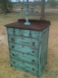 junk gypsy painted furniture | Love the way this turned out!!
