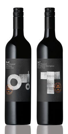 Shaw Family Vintners Single Vineyard via @Matt Valk Chuah Dieline PD