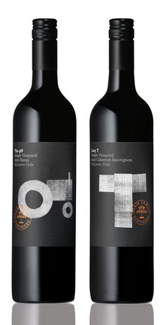 Shaw Family Vintners Single Vineyard via @Matt Valk Chuah Dieline PD