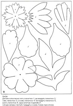 описание изготовления цветов из ткани12.