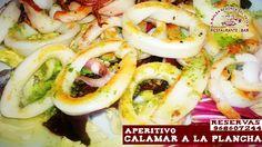 ¿apetece hoy un buen aperitivo empezando con un buen calamar plancha con limón o salsa verde? sea como fuere, tenemos un gran día y solazo en La Balsa Redonda del  Valle ¿apetece? Reservas 968607244