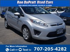 2012 *Ford*  *Fiesta* *SE*  111k miles Call for Price 111078 miles 707-205-4282 Transmission: Automatic  #Ford #Fiesta #used #cars #RonDuprattUsedCars #Vacaville #CA #tapcars