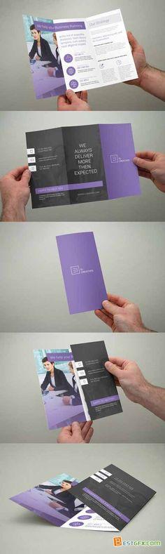 Creativemarket Multipurpose Trifold Brochure 368131