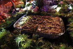 Festa Elfos BBB16 - Cuscuz verde com cubos de salmon grelhado e alho poró