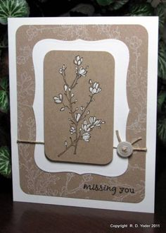 Simply Soft    CAS Simply Missing You by pbft - Cards and Paper Crafts at Splitcoaststampers