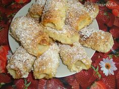 Trdelníky po domácky Home Baking, French Toast, Bread, Breakfast, Food, Sweet, Basket, Morning Coffee, Candy
