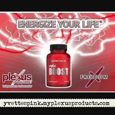 Enter code BOOST5 at checkout to get $5 off!! Offer good until August 31,2015. yvettespink.myplexusproducts.com