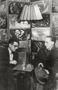 Duchamp et Man Ray.