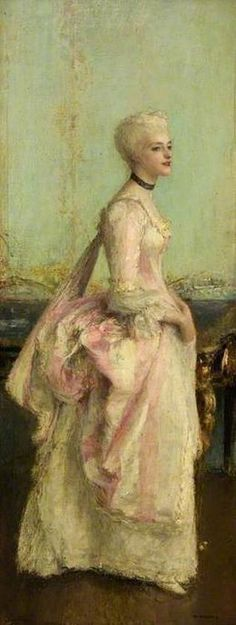 Portrait of a Lady, Pascal Adolphe Jean Dagnan-Bouveret, ca.1878-1885