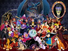 Disney Villians-AT FIRST I THOUGHT IT WASN'T PHOTOSHOPPED THEN BAM MOTHER GOTHEL HIT ME IN THE FACE