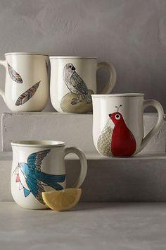 bluebird mug #anthrofave