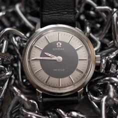 Omega De Ville Analog Vintage Lady's Wristwatch #Omega #Vintage