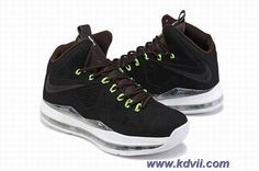 New Nike LeBron X EXT Black Suede 607078-001