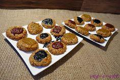 veg-i-vet: Vločkové sušenky Vegan Recipes, Muffin, Cookies, Breakfast, Desserts, Fitness, Food, Crack Crackers, Morning Coffee